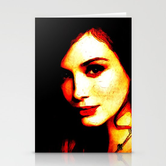 Christina Hendricks Stationery Cards