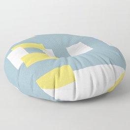 City Lines Floor Pillow