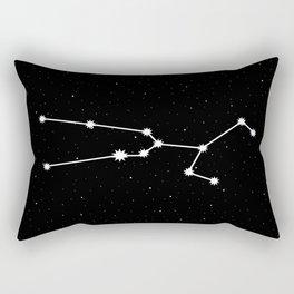 Taurus Star Sign Night Sky Rectangular Pillow