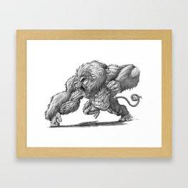 The African Gorillion Framed Art Print