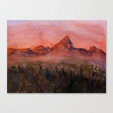 Fictional Landscape I Canvas Print