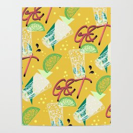 Give Me G&T Poster