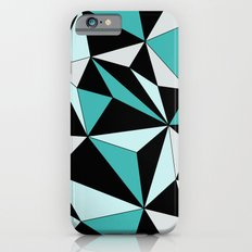 Geo - blue, gray and black. iPhone 6s Slim Case