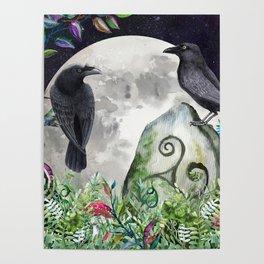 Raven Moon Magick Poster