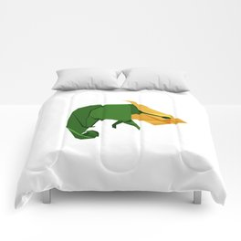 Origami Chameleon Comforters