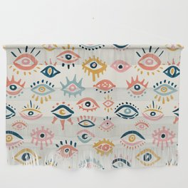 Mystic Eyes – Primary Palette Wall Hanging