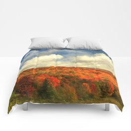 Fall in the Highlands Comforters