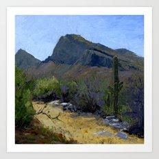 Desert Flora Art Print
