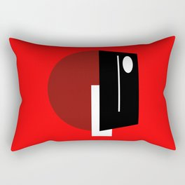TELEV  IS  ON Rectangular Pillow