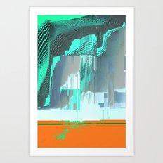RAIN on the FOREST Art Print