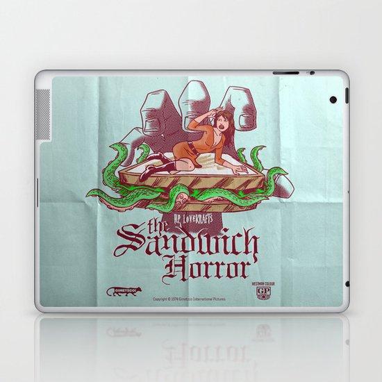 H.P. LoveKRAFT's  The Sandwich Horror Laptop & iPad Skin