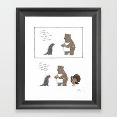 Tofurkey Day  Framed Art Print