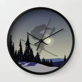 Touch The Morning Sun - Square   DopeyArt Wall Clock