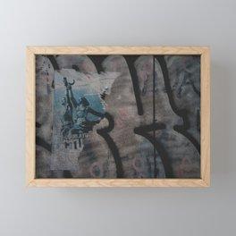 El bloque. Framed Mini Art Print