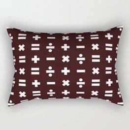 Math Pattern Rectangular Pillow