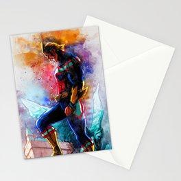 All Might Boku No Hero Academia My hero watercolor art Stationery Cards
