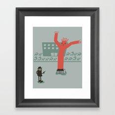 Highway Robbery Framed Art Print