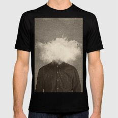 Head In the clouds Black 2X-LARGE Mens Fitted Tee
