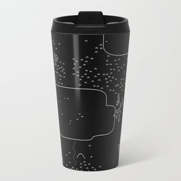 land of 15 towns and a cemetary · negative ⎌ Travel Mug