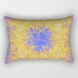 Nautique Cobalt - Surrealism Gold Rectangular Pillow