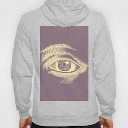 Kind Vintage Eye Pastel Pattern Hoody