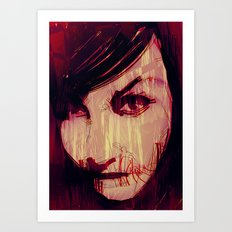 Strange Girl Art Print