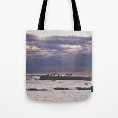 Surfers- Oahu-Honolulu Tote Bag