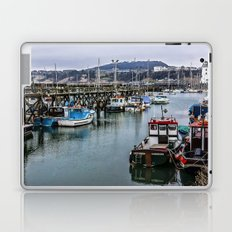 The Busy Harbour Scarborough Laptop & iPad Skin