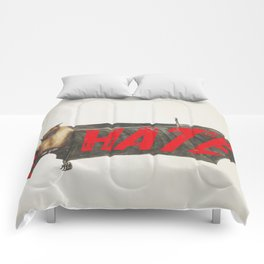 Love Hate Bat Comforters