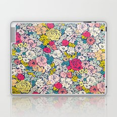 Vintage flowers Laptop & iPad Skin
