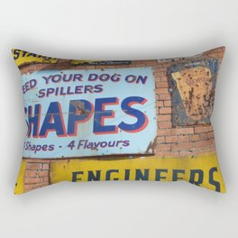 A Sign Of The Times Rectangular Pillow