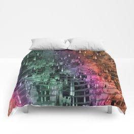 Spatial Factor 101 / Texture 30-10-16 Comforters
