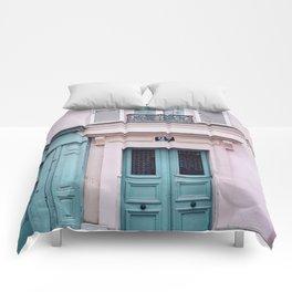Paris Facades. Comforters