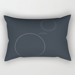 Melancholia, Lars von Trier, minimal movie poster, Danish film Rectangular Pillow