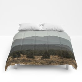 Rocky Mountain Haze Comforters