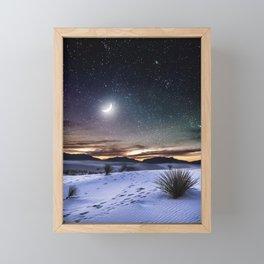 Estranged from you Framed Mini Art Print