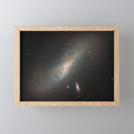 Leda NGC 4424 The Beautiful Universe Framed Mini Art Print