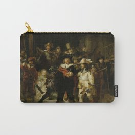 """Rembrandt Harmenszoon van Rijn, """"The Night Watch"""", 1642 Carry-All Pouch"""