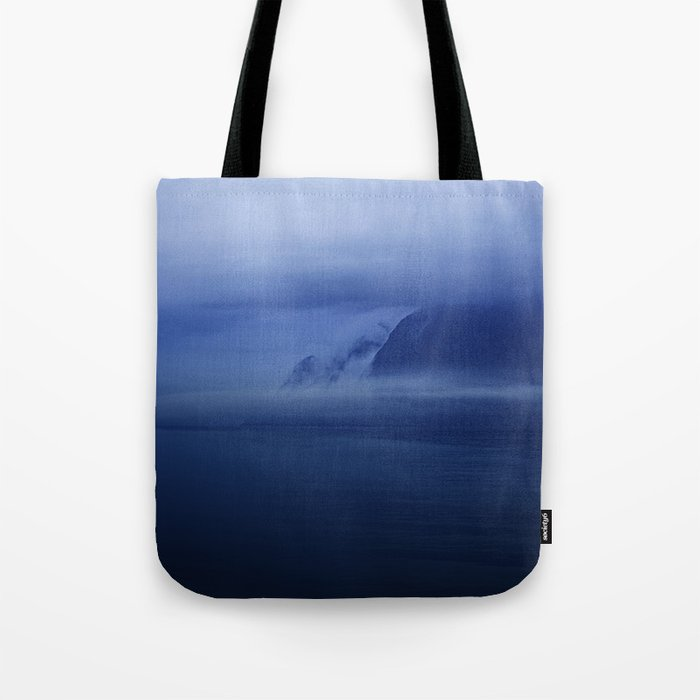 Smooth surf blues Tote Bag