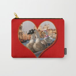 Geese on a Romantic Gondola Ride Carry-All Pouch