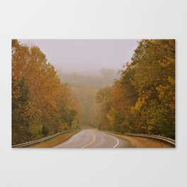 Autumnal Roads Canvas Print