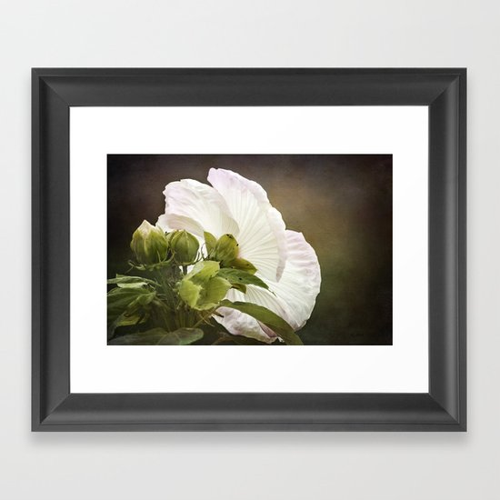 The Structure of Beauty Framed Art Print