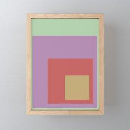 Color Ensemble No. 4 Framed Mini Art Print