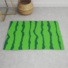 Crispy watermelon peel Rug
