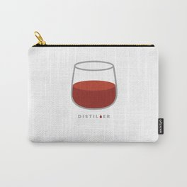 Whiskey is Neat Carry-All Pouch