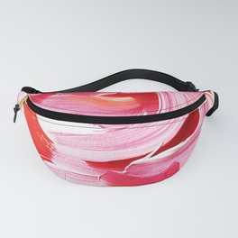 Vibrant and bold Pink Brush Stroke pattern Fanny Pack
