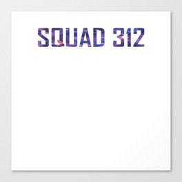 Bookish Squad 312 Aurora Rising Canvas Print