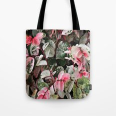 Mixed leaves Tote Bag