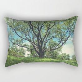 The Swing Tree Rectangular Pillow
