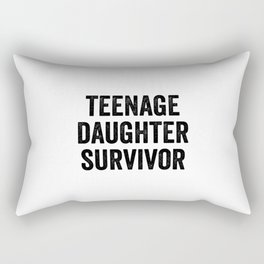 Teenage Daughter Survivor Rectangular Pillow